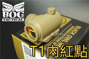 【翔準軍品AOG】BOG T1 快拆內紅點 M4 M16 沙色 6517080004681