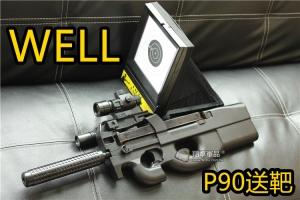 【翔準軍品AOG】(無法超取)WELL D90F 送靶 電動槍 EBB P90 生存遊戲 CQB 室內殺手 DW-01-D90H