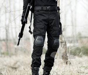 【翔準國際AOG】BK 黑色 Gen2 青蛙褲 生存 長褲 工作褲 戰鬥褲 耐磨 含護具 G0501
