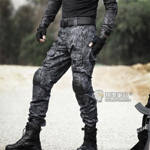 【翔準國際AOG】黑蟒 黑警蟒 Gen2 青蛙褲 生存 長褲 工作褲 戰鬥褲 耐磨 含護具 G0509A