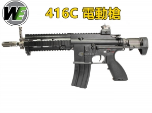 【翔準軍品AOG】WE 全金屬 416C 電動槍 生存遊戲 D-06-4-25A