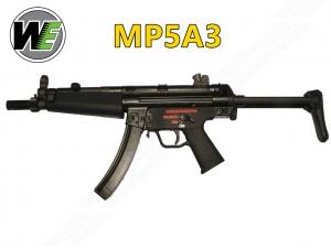 【翔準軍品AOG】WE MP5A3 阿帕契 GBB 瓦斯氣動槍 衝鋒槍 Blowback 長'槍