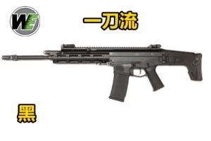 【翔準軍品AOG】WE  一刀流 MASADA GBB金屬瓦斯槍 黑色 BB槍 偉益 WE GBB 全金屬 狙擊槍