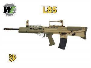 【翔準軍品AOG】開膛版~WE L85A2 GBB 沙色  瓦斯氣動槍,瓦斯槍,長槍 BB槍(仿真可動槍機~有後座力)