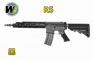 【翔準軍品AOG】 黑色 WE RARS M4R5 GBB 瓦斯槍 CO2槍 長槍 狙擊槍