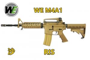 【翔準國際AOG】沙 WE M4 RIS GBB 全金屬 瓦斯 氣動槍 瓦斯槍 長槍 卡賓槍