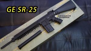 【翔準軍品AOG】GE-SR25 電動槍 黑色 SR-25狙擊步槍 DA-FB6652BK