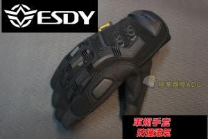 【翔準軍品AOG】 ESDY 全指海豹款(黑) 軍規 戰術手套 健身 射擊 登山 騎車 防BB彈 X1-5-9H