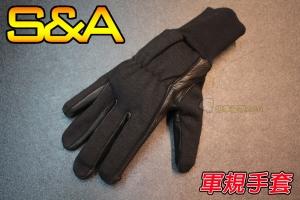 【翔準軍品AOG】(兩棲款)全指手套(黑)(3131)軍規 戰術手套 健身 射擊 登山 騎車 防BB彈 SNA7IA