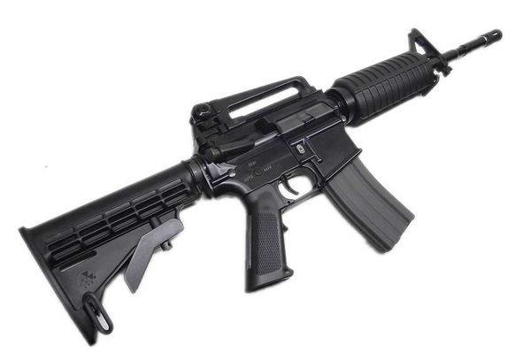 ~ 翔準 AOG ~ 利盈電槍 M4A1 M16 電動槍 BB槍 長槍 狙擊槍 玩具槍 電池槍 生存遊戲 拍戲_《利 ... M16