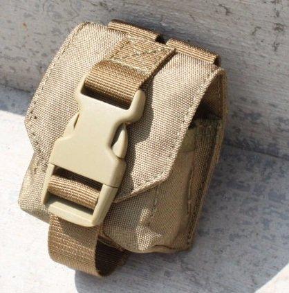 【翔準軍品】TMC Spartan Grenade Pouch MOLLE ( CB ) 小包 袋 TMC-1873