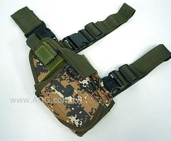 【翔準軍品AOG】(數位叢林) 龍捲風腿掛槍套 右手 M92、 TT33 XDM 4.3 5.1 7吋龍 軍警槍 瓦斯槍 CO2 萬用型(顏色任選)