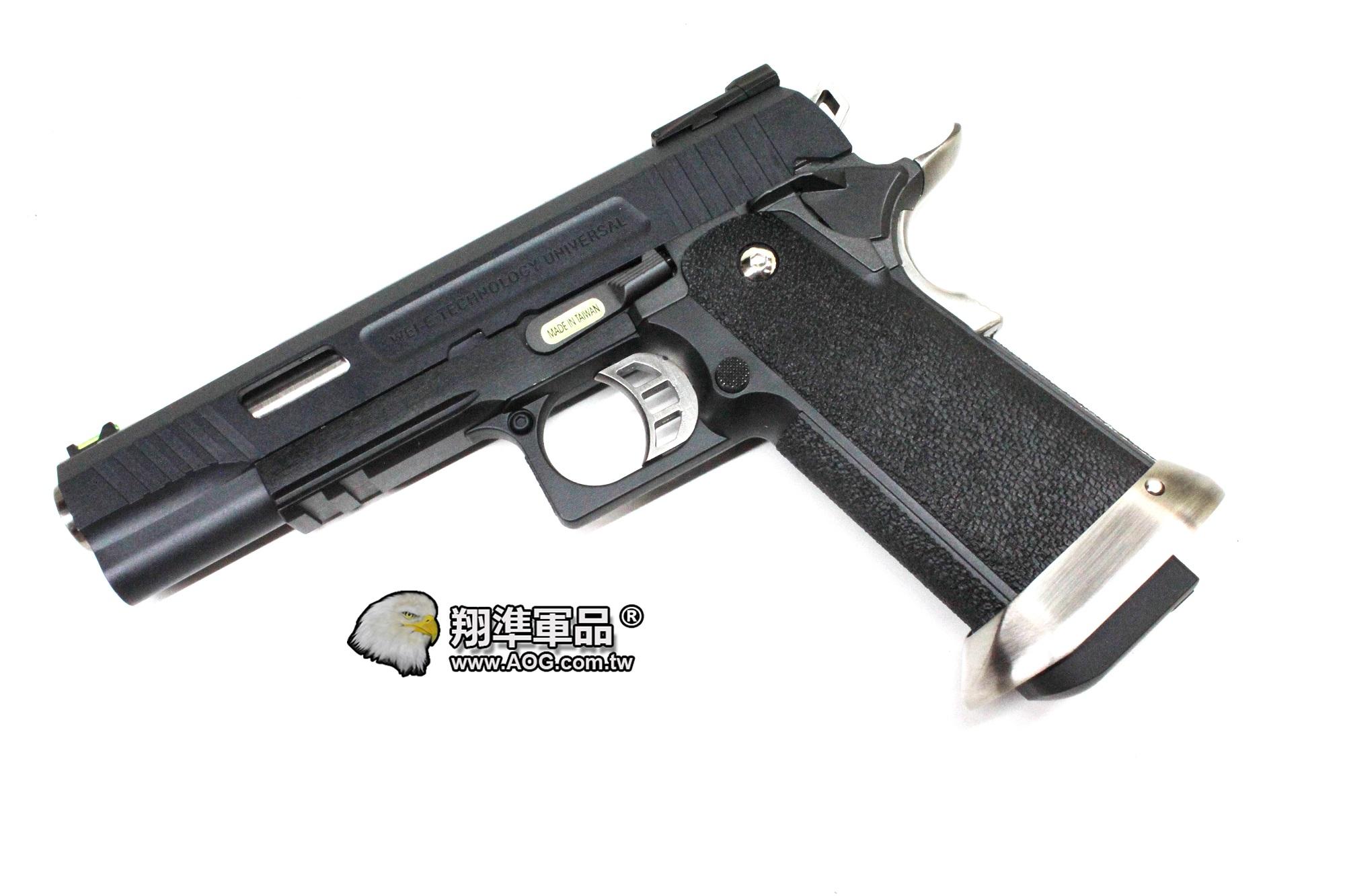 【翔準軍品AOG】 5.1 T.REX HI-CAPA (黑)原力系列 全金屬瓦斯槍 D-02-08-23AB