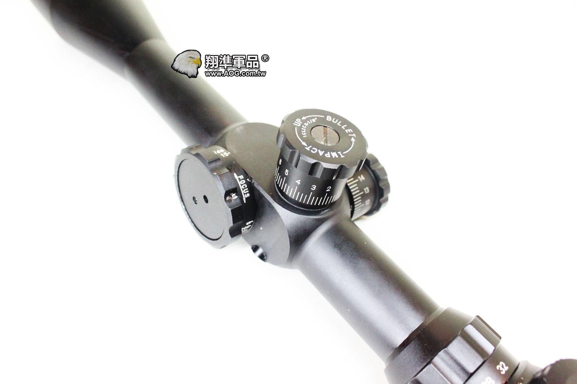 【翔準軍品AOG】8-32X50 水平儀 抗震 全金屬狙擊鏡 瞄準器 可歸零(紅綠光)B01075
