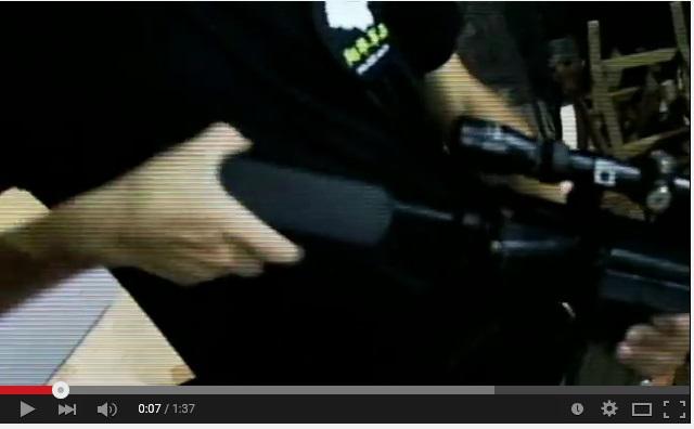 【影片】打鋼靶 標靶 製作 可用在IPSC 等射擊活動 (鋼靶介紹展示)